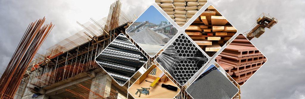 statybinės medžiagos